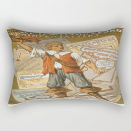 Vintage poster - Prince of Tatters Rectangular Pillow