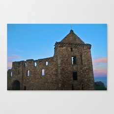 Scottish Castle Canvas Print