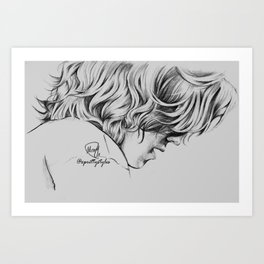 Harry Styles #4 Art Print
