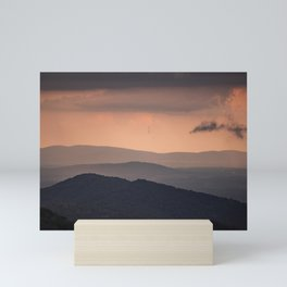 Blue Ridge Parkway Sunset - Shenandoah National Park Mini Art Print