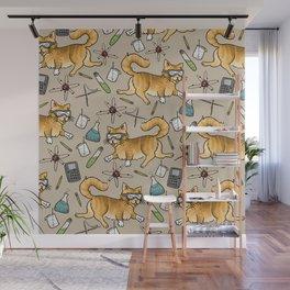 STEM Cats Wall Mural