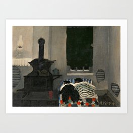 Asleep by Horace Pippin, 1943 Art Print
