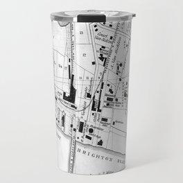 Vintage Map of Coney Island (1879) Travel Mug