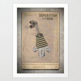 Dr. Bellows Super Star Hybrid Art Print