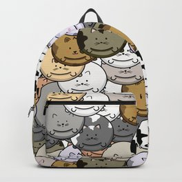 Chubby Cat Balloons Backpack