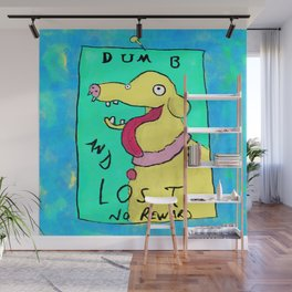 Dumb and Lost Wall Mural