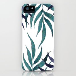 Palm leaves n.1 iPhone Case