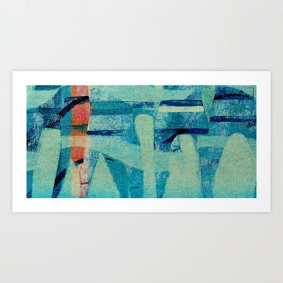 Water Polo Art Print