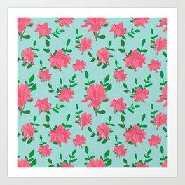 Ginger flowers Art Print
