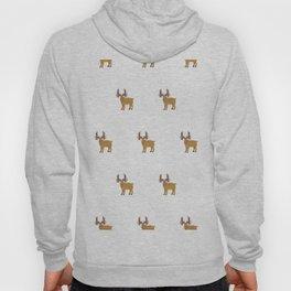 Moose Pattern Hoody