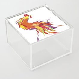 Red Rooster Acrylic Box