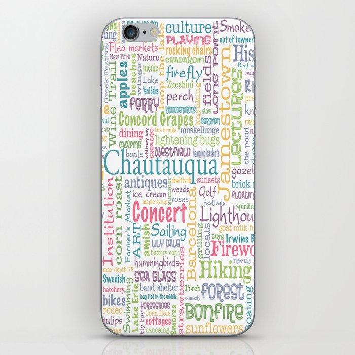 Chautauqua Summer Dream iPhone Skin by egleason