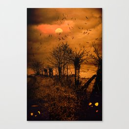 Samhain Contemplative -- Trick or Treat Smell My Feet Canvas Print