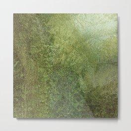 Green Immersion Metal Print