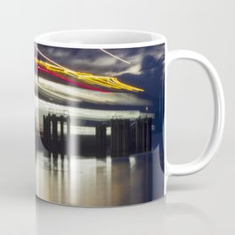 Ferry Arrives Coffee Mug
