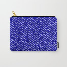 Doctor Who Episode Titles Carry-All Pouch