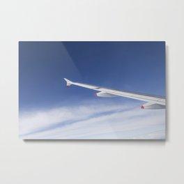 Flying High In The Atmosphere Metal Print