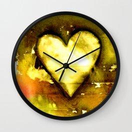 Heart Dreams 3C by Kathy Morton Stanion Wall Clock