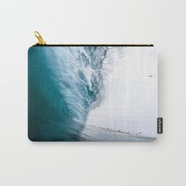 Beautiful Wave Crash Carry-All Pouch