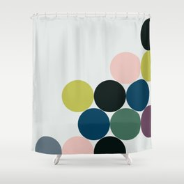 cluster || chill Shower Curtain