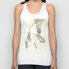 Feathers Unisex Tank Top