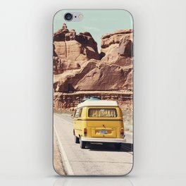 Going on a road trip iPhone Skin