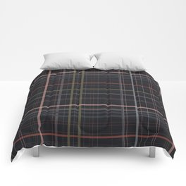 A very glommy plaid Comforters