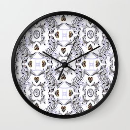 My Hearts Content 2 Wall Clock
