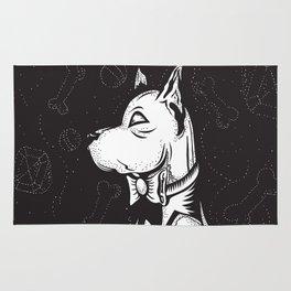 Family Portrait Dog Rug