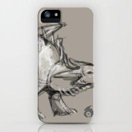 Dragon Sketch iPhone Case