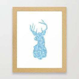 Hello, Deer Framed Art Print