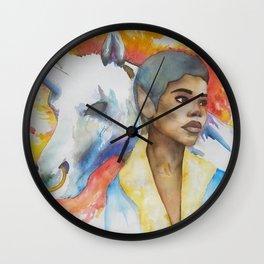 Perfect Match Wall Clock