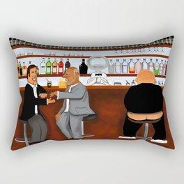 Corky the Bartender Rectangular Pillow