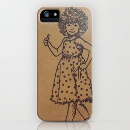 Go Girl iPhone Case
