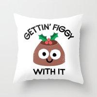 Body English Throw Pillow