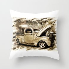 1940 Ford Pick up Truck Throw Pillow
