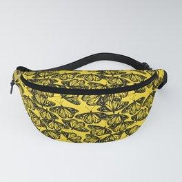 Butterflies (yellow) Fanny Pack