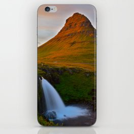 The Mountain & The Falls iPhone Skin