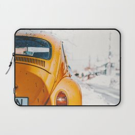 Yellow Taxi (Color) Laptop Sleeve