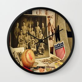 The Pastime Wall Clock