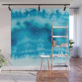 Deep Blue Wall Mural