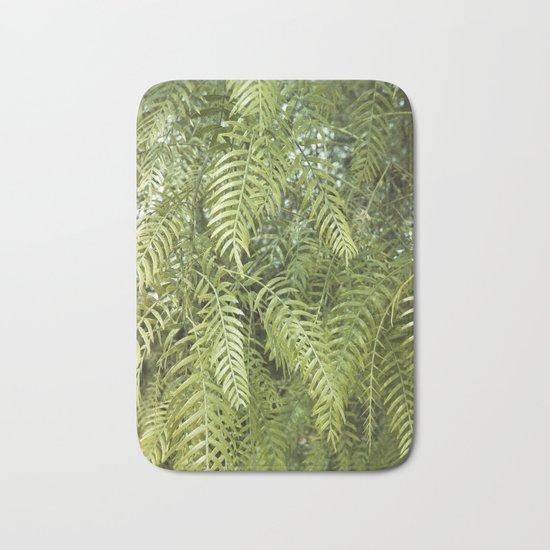 Green Tree. Vegetal Photography Bath Mat
