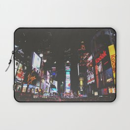 Evening Glow - Times Square Laptop Sleeve