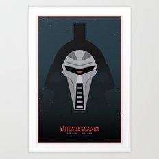 Battlestar Galactica - Old and New Art Print