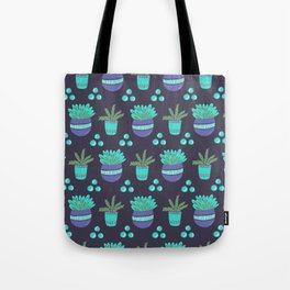 Potted Plants Pattern Tote Bag