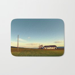 The serenity of countryside life | landscape photography Bath Mat