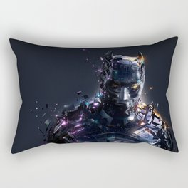 The Caped Crusader Rectangular Pillow
