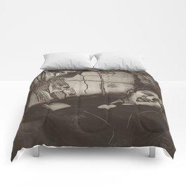 Newspaper Boy Comforters