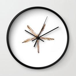Blonde starfish Wall Clock