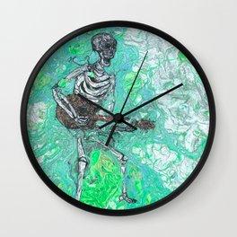"""Death Jam"" by Jordan Halstead Wall Clock"